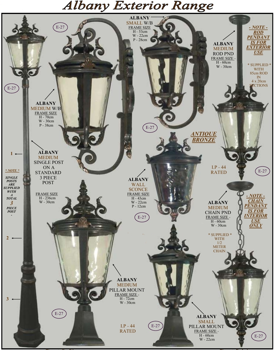 Exterior Outdoor Lighting Wholesale Retail