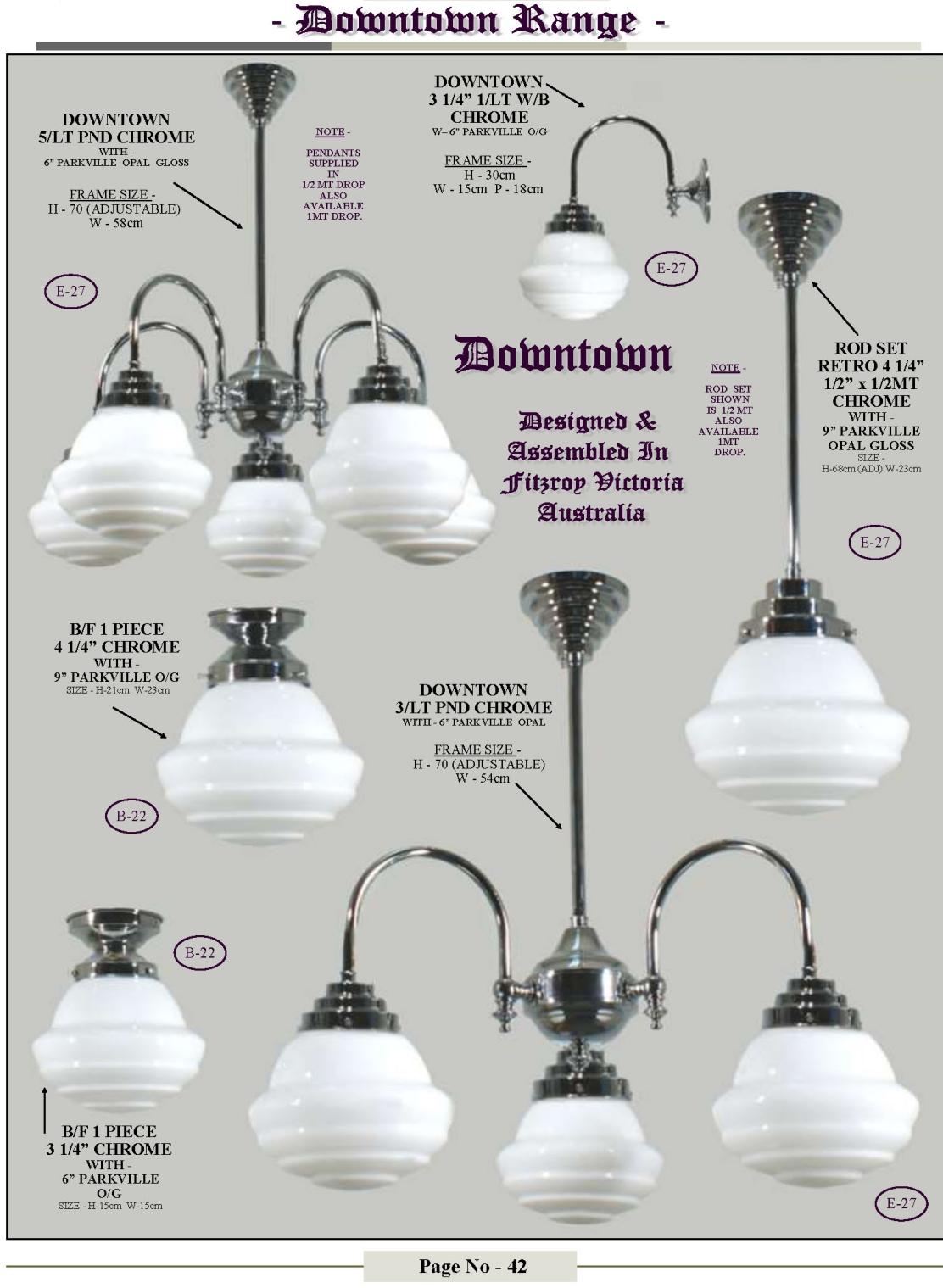 chrome lighting retailer wholesaler