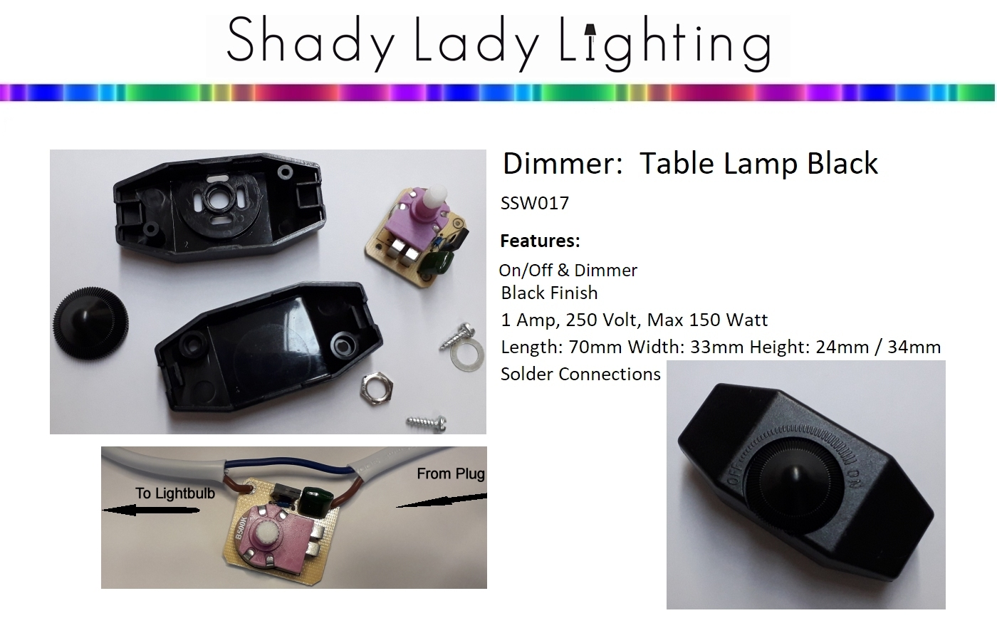 Lighting Tablelamp Switches Pull Cord Dimmers Sale Nz