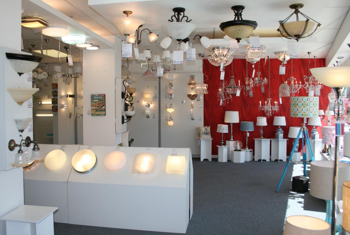 Lighting Retailer And Showroom Lighting Display Wellington